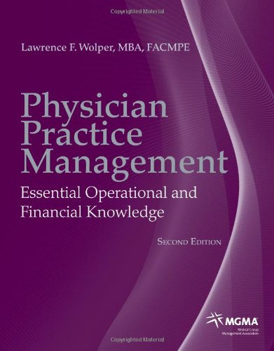Physician Practice Management 9780763771010
