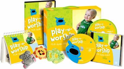 Play-N-Worship: Play-Along Bible Stories: Sunday School for Babies [With CDROM and 5 Plush Softees and Storyboards, 4 Songbooks, Leader's Guide and 4 9780764443121