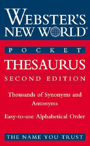 Pocket Thesaurus 9780764561481