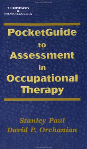 Pocketguide to Assessment in Occupational Therapy 9780766836280