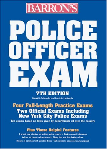 Police Officer Exam 9780764124105