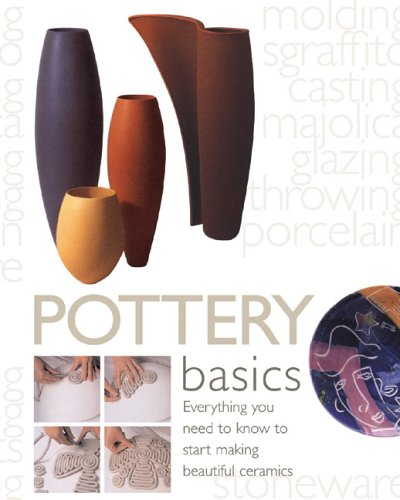 Pottery Basics: Everything You Need to Know to Start Making Beautiful Ceramics 9780764158421