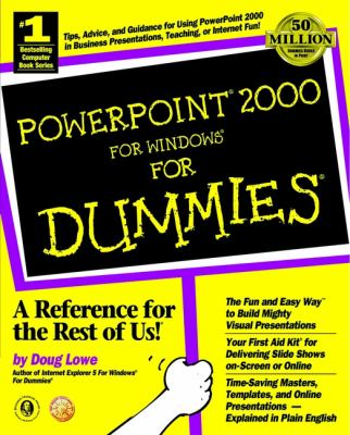 PowerPoint 2000 for Windows for Dummies 9780764504501