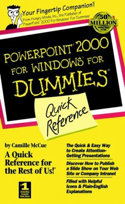 PowerPoint 2000 for Windows for Dummies Quick Refernce 9780764504518