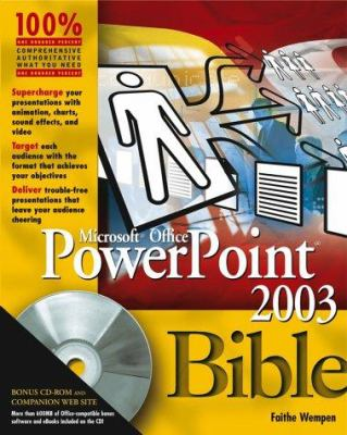 PowerPoint 2003 Bible [With CDROM] 9780764539725
