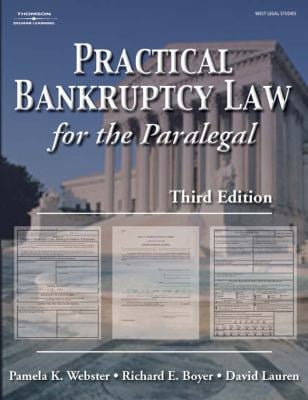 Practical Bankruptcy Law for Paralegals 9780766828568