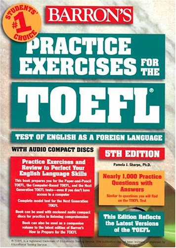Practice Exercises for the TOEFL with Audio CD 9780764175121