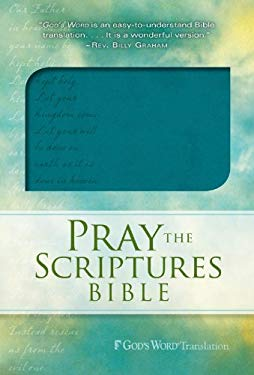Pray the Scriptures Bible Teal Duravella 9780764210167