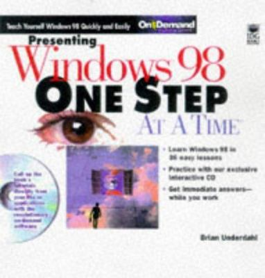 Presenting Windows 98 One Step at a Time [With *] 9780764531910