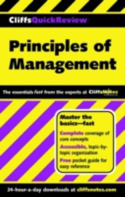 Principles of Management 9780764563843