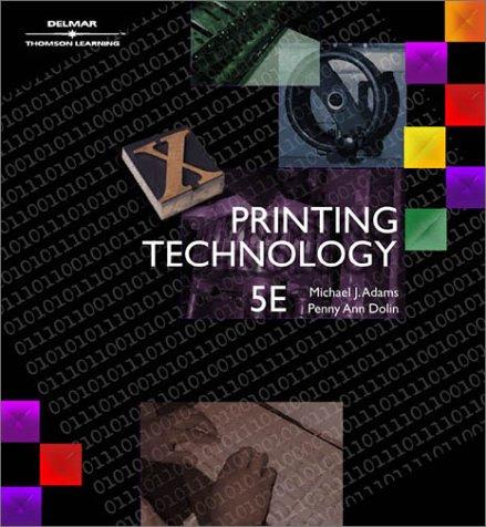 Printing Technology (9780766822320) photo