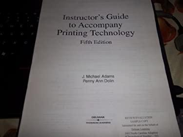 Printing Technology (9780766822337) photo