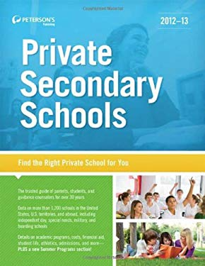 Private Secondary Schools 2012-13 9780768934373