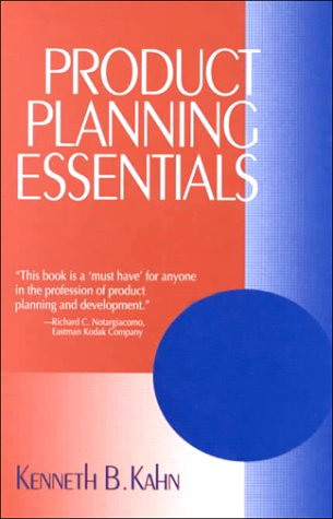 Product Planning Essentials 9780761919988