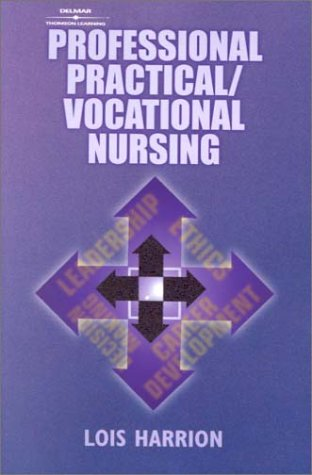 Professional Practical/Vocational Nursing 9780766822757
