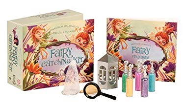 Professor Dalrymple's Fairy Catching Kit: Deluxe Patented [With Observation Container, Catching Net and 5 Different Types of Glitter to Attract Fairie
