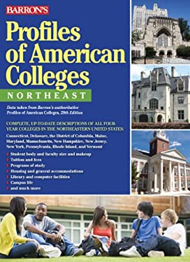 Profiles of American Colleges, Northeast 9780764147494