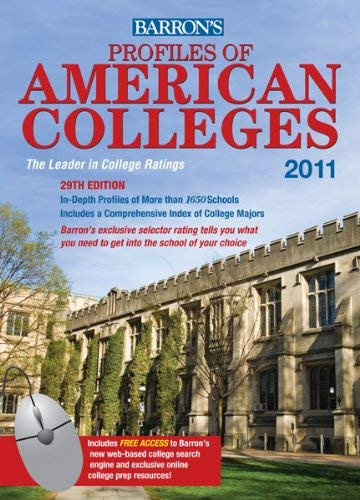 Barron's Profiles of American Colleges 9780764197680