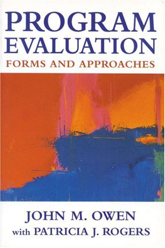 Program Evaluation: Forms and Approaches 9780761961789
