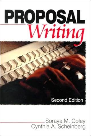 Proposal Writing 9780761919605