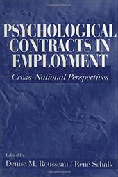 Psychological Contracts in Employment: Cross-National Perspectives 2901294