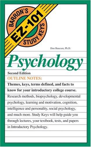Psychology 9780764134210