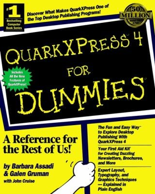 QuarkXPress. 4 for Dummies. 9780764502422