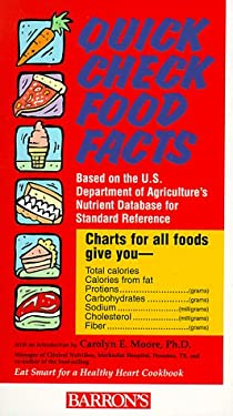 Quick Check Food Facts Quick Check Food Facts 9780764108747