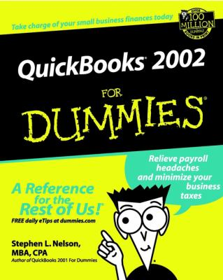 QuickBooks. 2002 for Dummies. 9780764508929