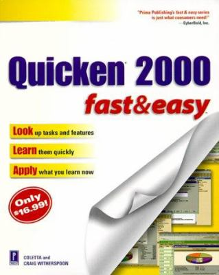 Quicken 2000 Fast and Easy 9780761523147
