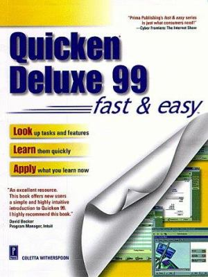 Quicken Deluxe 99 Fast & Easy 9780761517870