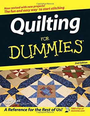 Quilting for Dummies 9780764597992