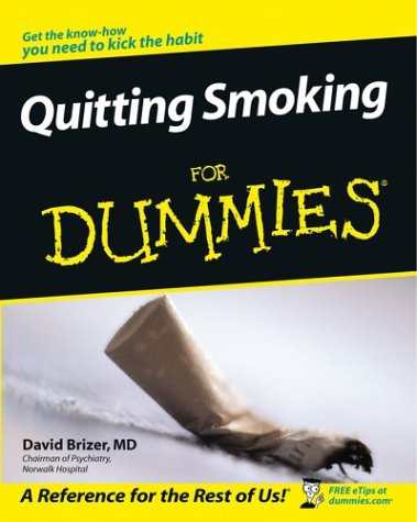 Quitting Smoking for Dummies 9780764526299