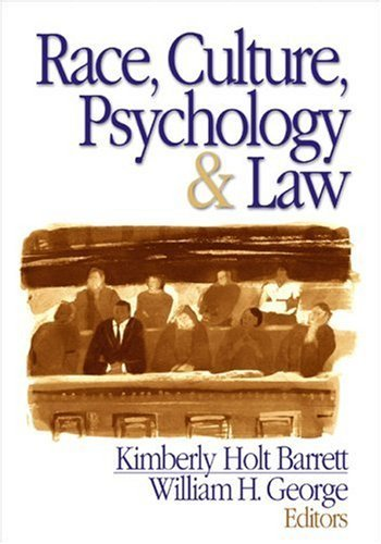 Race, Culture, Psychology, & Law 9780761926634