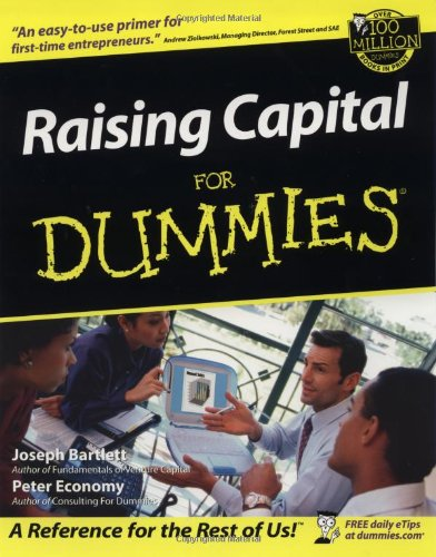 Raising Capital for Dummies 9780764553530