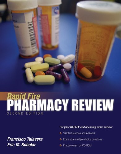 Rapid Fire Pharmacy Review 9780763734190