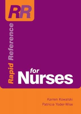 Rapid Reference for Nurses 9780763736965