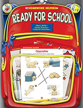 Ready for School, Homework Helpers, Grades PreK-1 9780768206784