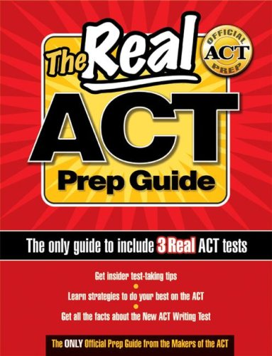 Real ACT Prep Guide. 1/E 9780768919752