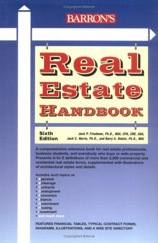 Real Estate Handbook 9780764157776