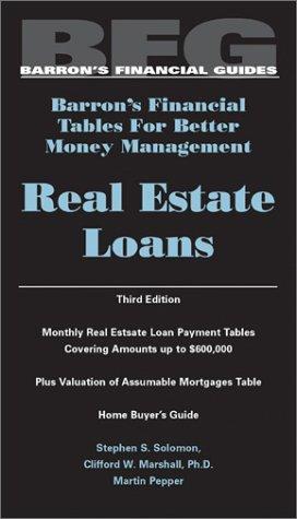 Real Estate Loans Real Estate Loans 9780764118005