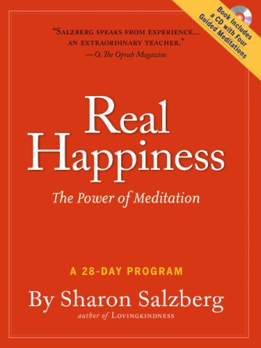 Real Happiness: The Power of Meditation: A 28-Day Program [With CD (Audio)] 9780761159254