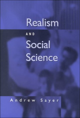 Realism and Social Science 9780761961246