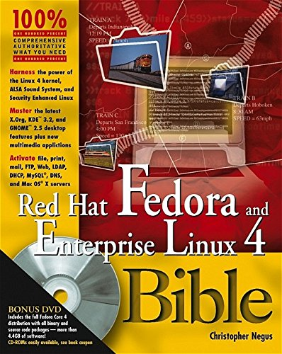 Red Hat Fedora and Enterprise Linux 4 Bible [With 2 CDROMsWith DVD]