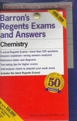 Regents Power Pack: Chemistry--The Physical Setting 9780764171628
