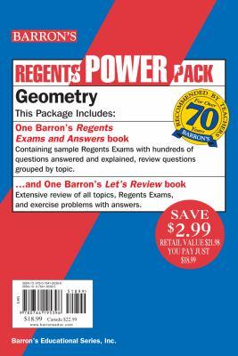 Regents Power Pack, Geometry 9780764195396