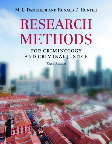Research Methods for Criminology and Criminal Justice 9780763777326