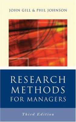 Research Methods for Managers 9780761940012