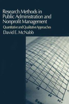 Research Methods in Public Administration and Nonprofit Management: Quantitative and Qualitative Approaches 9780765609571