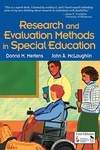 Research and Evaluation Methods in Special Education 9780761946526